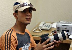 Az Zanoun, fotógrafo palestino