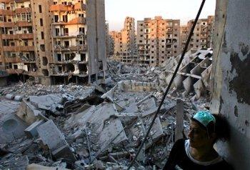 Beirut destruido