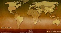Mapa de emisiones de CO2