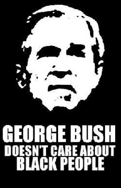 Bush no se preocupa por los negros
