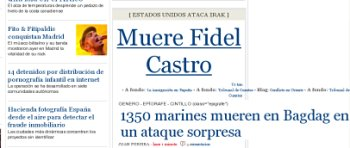 El Pas mata a Fidel