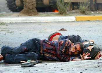 La peor imagen de Iraq