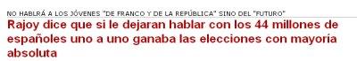El arma secreta de Rajoy