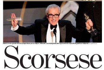 Scorsese consigue el Oscar que le debían