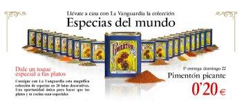 La Vanguardia defiende la tienda con especias