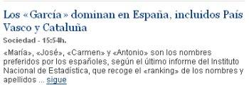 Los García salvarán a España