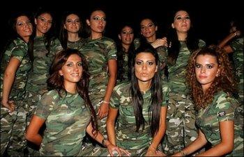 Bellezas paramilitares