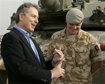 Blair y su víctima número 100