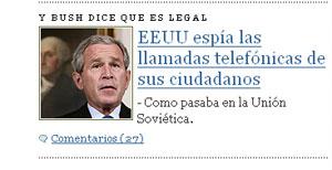 Bush, el sovietico