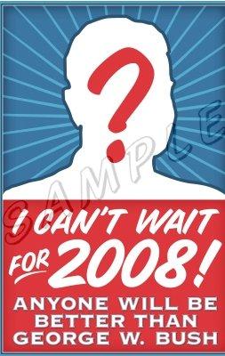 La camiseta que no se pondrá Bush