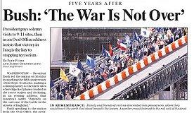 La guerra eterna de Bush no ha terminado