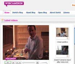 Cameron nos ense�a su cocina