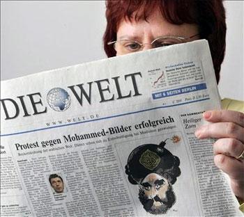 Die Welt se une a la polémica. Foto: