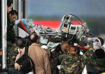 Dozier llega a Alemania. Foto: AP