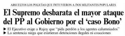 El País: el Supremo desbarata