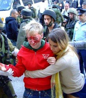 Atacada por los colonos de Hebrón