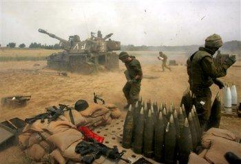 Los bombardeos de Gaza