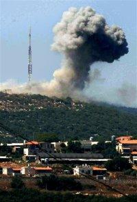 La aviaci�n israel� ataca el sur de L�bano