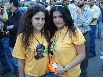 la guerrilla más sexy de Oriente Medio