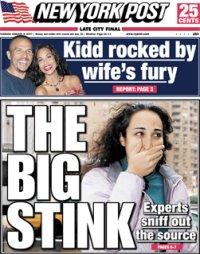 Nueva York enloquece por el mal olor