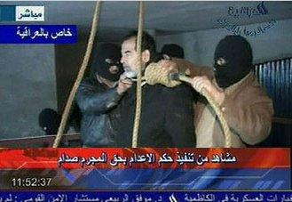 Sadam Hussein, ejecutado