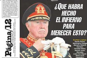 El infierno espera a Pinochet con reticencias