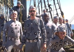 Piratas del mar Caribe en pijama