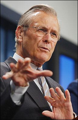 Al mago Rumsfeld ya no le quedan más trucos