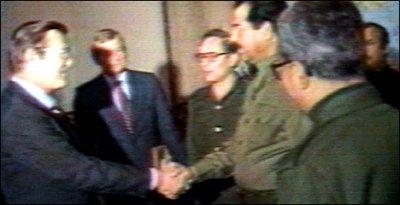 Fue el comienzo de una gran amistad entre Rumsfeld y Sadam