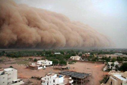 el haboob en Sudan
