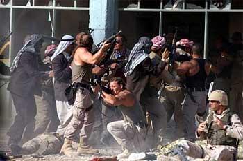 Escena de El valle de los lobos - Irak
