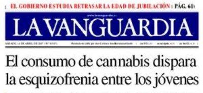 La Vanguardia se dispara en la cabeza
