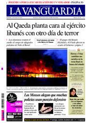 Las tonterías de La Vanguardia sobre los combates del Líbano