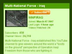 El Ejército llama a filas a YouTube