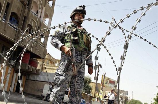 irak policia