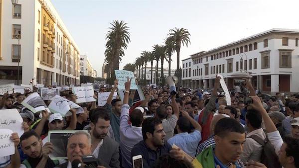 marruecos-manifestacion