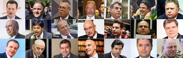 ministros Brasil