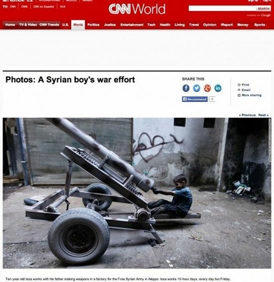 niño siria