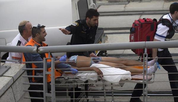 palestino herido