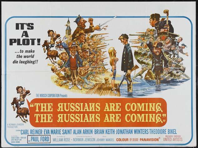 que vienen los rusos