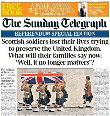 telegraph escocia